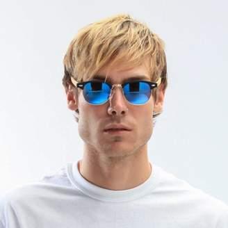 Unisex Fashion Eyewear Sunglasses With Bamboo Temple