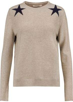 Chinti and Parker Intarsia Wool And Cashmere-Blend Sweater