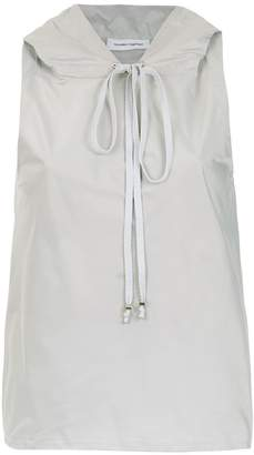 Gloria Coelho hooded blouse