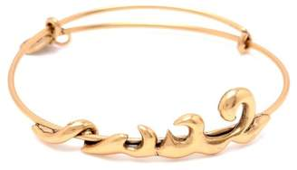 Alex and Ani Elements Water Wave Expandable Wire Bracelet