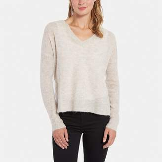 Line Beth V-Neck High-Low Sweater