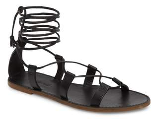 Madewell The Boardwalk Lace-Up Sandal