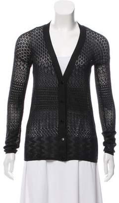 Proenza Schouler Long Sleeve Knit Cardigan