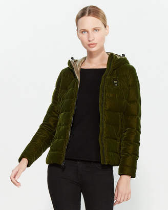 Blauer Flocked Quilted Jacket