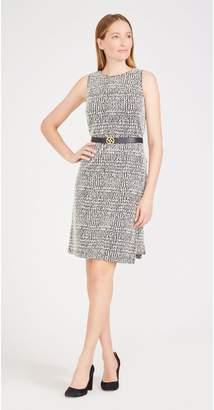 J.Mclaughlin Alyssa Dress in Houndstooth Plaid Jacquard