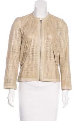 Etoile Isabel Marant Leather Laser Cut Jacket