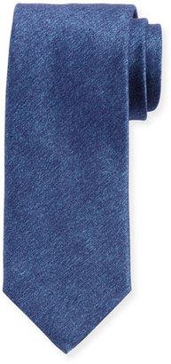 Charvet Solid Textured Silk Tie $245 thestylecure.com