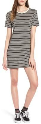 Obey Freya Stripe T-Shirt Dress