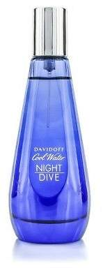 Davidoff NEW Cool Water Night Dive Woman EDT Spray 80ml Perfume