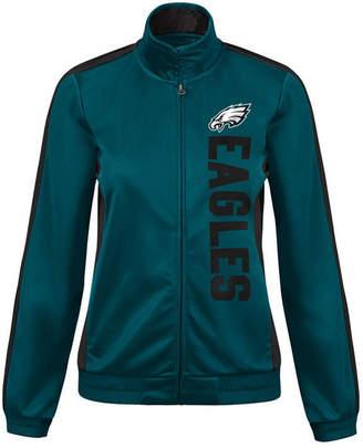 G-iii Sports Women's Philadelphia Eagles Backfield Track Jacket