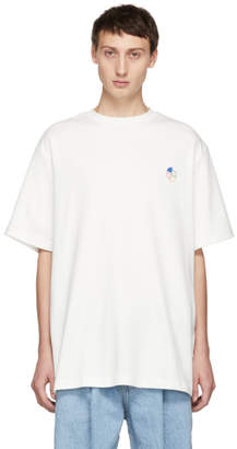 ADER error White Slice Logo T-Shirt