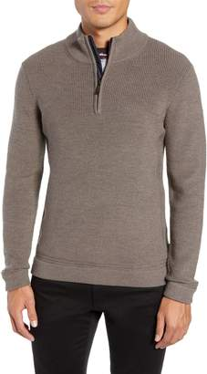 Ted Baker Lohas Slim Fit Funnel Neck Sweater