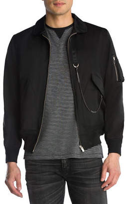 The Kooples Chain Bomber Jacket