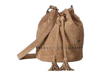 Roxy Hear Me Now Medium Bucket Bag