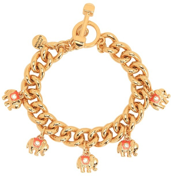 Juicy Couture Elephant Bracelet (Gold) - Jewelry