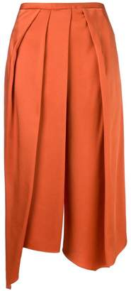 Chalayan cropped draped trousers