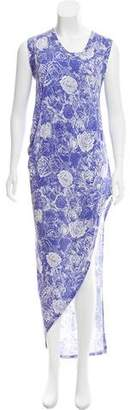 Thakoon Printed High-Low Dress