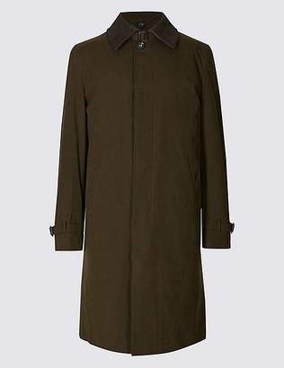 "Marks and Spencer Cotton Blend Trench Coat with Stormwearâ""¢"