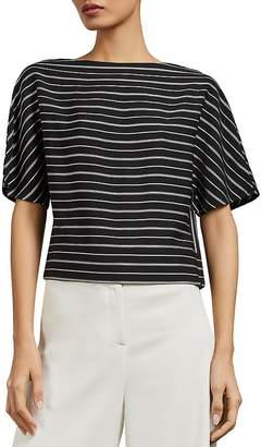 Ted Baker Rosalyn Striped Box Top