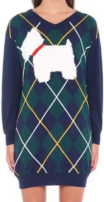 Moschino 'scottish Dog' Sweater