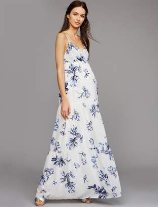 Yumi Kim Pea Collection Sheath Maternity Maxi Dress