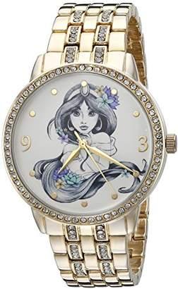 Disney The Princess & The Frog Women's W002517 Jasmin Analog Display Analog Quartz Watch