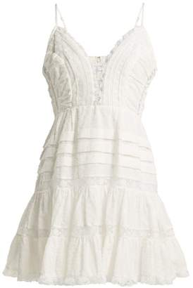 Zimmermann Iris Lace Insert Camisole Dress - Womens - Ivory