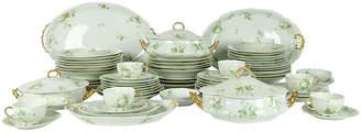 One Kings Lane Vintage Limoges Porcelain Dinner Service - 73 Pcs - La Maison Supreme