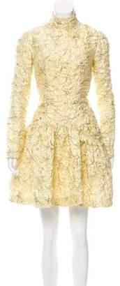 Simone Rocha Brocade Mini Dress