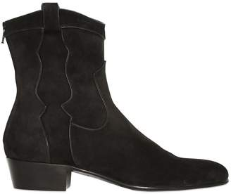 4822abf3bde Steve Madden Leeman Men s Shoes ·  44.99  110. Get a Sale Alert. at  LUISAVIAROMA · 35mm Suede Western Boots