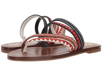 Tory Burch Patos Embroidered Sandal Women's Sandals