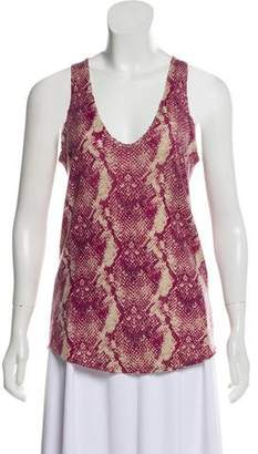 Zadig & Voltaire Sleeveless Cashmere Top