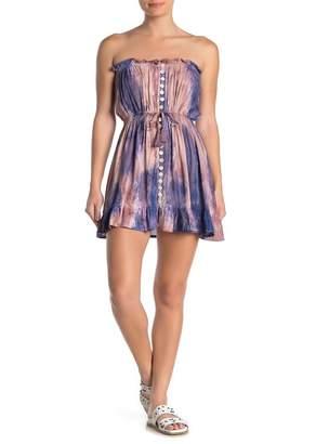 Tiare Hawaii Ryden Strapless Off-the-Shoulder Dress
