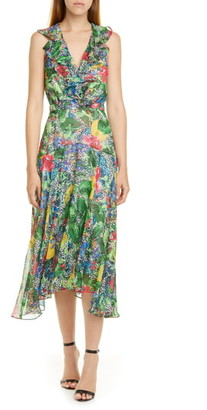 Saloni Rita Ruffle Dress