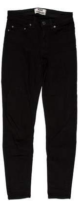 Acne Studios Mid-Rise Skinny Jeans