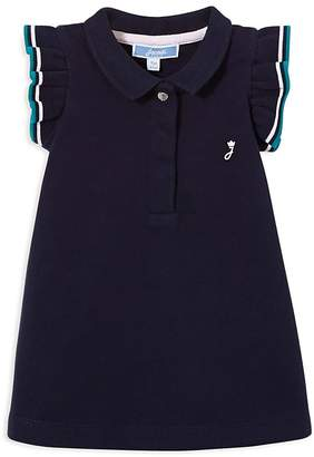 Jacadi Girls' Flutter-Sleeve Polo Dress - Baby
