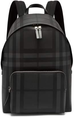 Burberry check PVC backpack