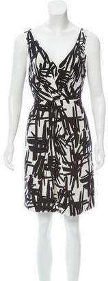 Tibi Silk Patterned Dress w/ Tags