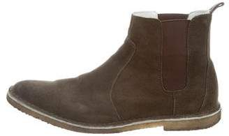 Pierre Hardy Suede Chelsea Boots