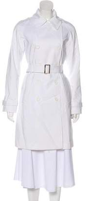 Calvin Klein Knee-Length Trench Coat w/ Tags