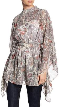 Gracia Paisley Patterned Blouse