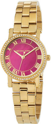 MICHAEL Michael Kors 28mm Petite Norie Bracelet Watch, Pink/Gold