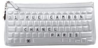 Chanel 2017 Keyboard Clutch