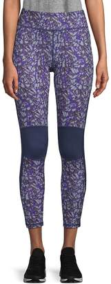 Zobha Women's Printed Knee Pad Leggings