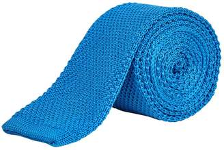 Burton Mens Cobalt Knitted Tie