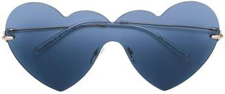 Christopher Kane Eyewear heart-shaped sunglasses