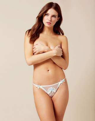 Agent Provocateur Laia Thong White And Blue