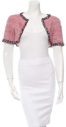 Chanel Tweed Metallic-Trimmed Bolero w/ Tags