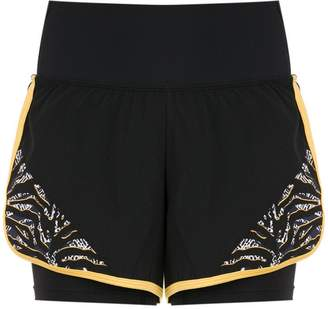 Track & Field Escape panelled shorts