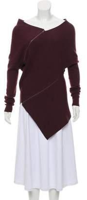 Maison Margiela Wool Asymmetrical Sweater